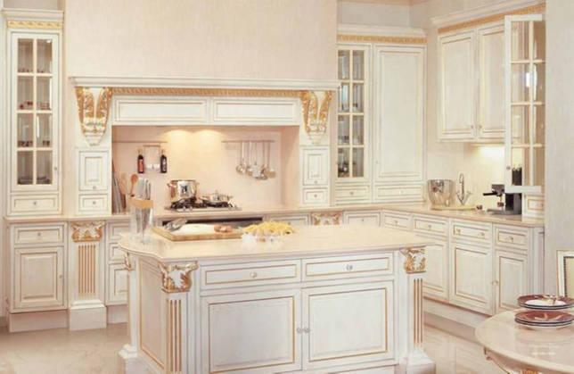 Кухни в стиле «барокко» и «рококо»
