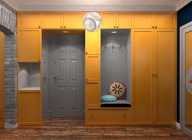 шкаф вокруг дверного проёма фото оформление