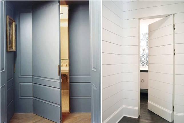 Дверь-панель, потайные двери